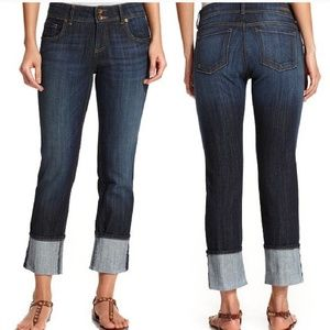 Kut from the kloth Cameron crop jeans 8